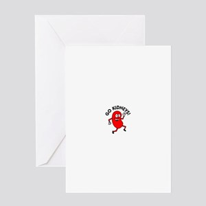 Kidney donor greeting cards cafepress go kidneys greeting cards m4hsunfo