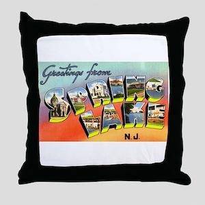 Spring Lake New Jersey Throw Pillow