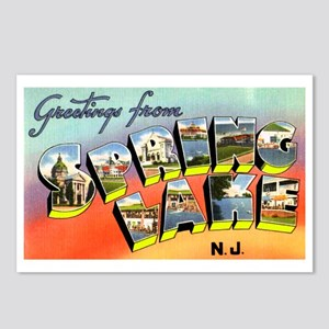 Spring Lake New Jersey Postcards (Package of 8)