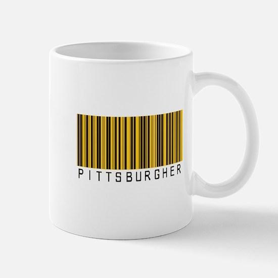 Pittsburgher Barcode Mug
