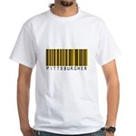 Pittsburgher Barcode White T-Shirt