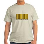 Pittsburgher Barcode Light T-Shirt