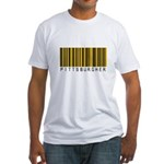 Pittsburgher Barcode Fitted T-Shirt