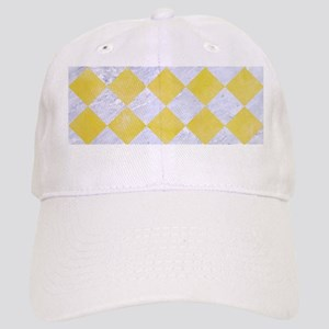 SQUARE2 WHITE MARBLE & YELLOW WATERCOLOR Cap