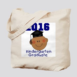 2016 Boy Kindergarten Grad Tote Bag