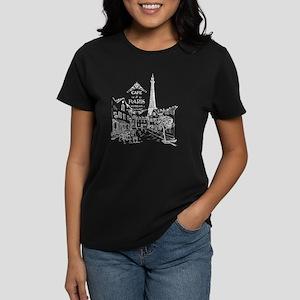 White Paris Cafe T-Shirt