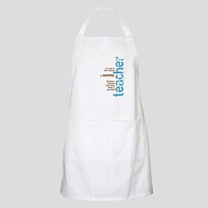 Teacher's Inspire (Blue/Brown BBQ Apron