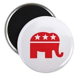 Republican Elephant Logo-Single Color Magnet