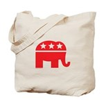 Republican Elephant Logo-Single Color Tote Bag