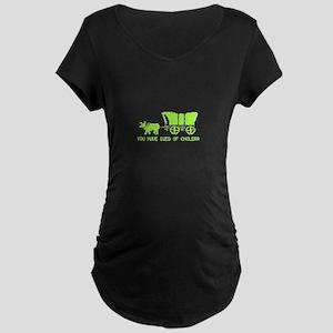 Died of Cholera Maternity Dark T-Shirt