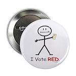 Stick Figure Vote Red 2.25