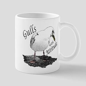 """Gull with Attitude"" Mug"