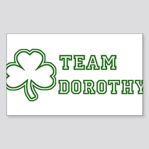Team Dorothy Rectangle Sticker