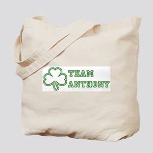 Team Anthony Tote Bag