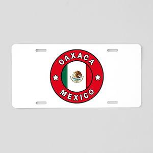 Oaxaca Mexico Aluminum License Plate