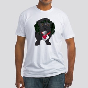 BLACK DOG Fitted T-Shirt