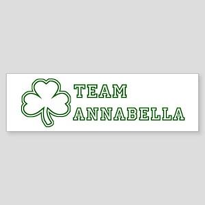 Team Annabella Bumper Sticker