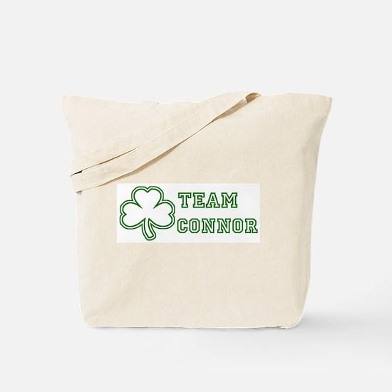 Team Connor Tote Bag