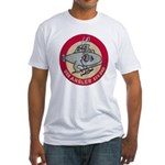 USS ANGLER Fitted T-Shirt