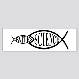 Science Trumps Faith Bumper Sticker
