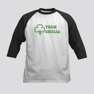 Team Cecilia Kids Baseball Jersey