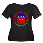 Cthulhu For President Women's Plus Size Scoop Neck
