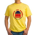 Cthulhu For President Yellow T-Shirt