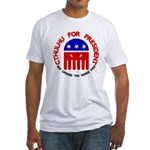 Cthulhu For President Fitted T-Shirt