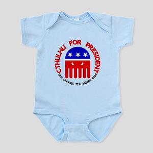 Cthulhu For President Infant Bodysuit