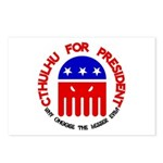 Cthulhu For President Postcards (Package of 8)