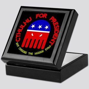 Cthulhu For President Keepsake Box