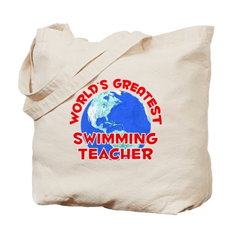 World's Greatest Swimm.. (F) Tote Bag