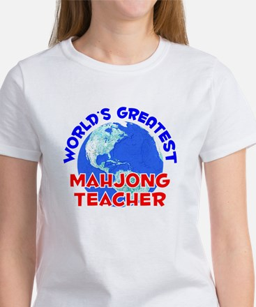 World's Greatest Mahjo.. (E) Women's T-Shirt