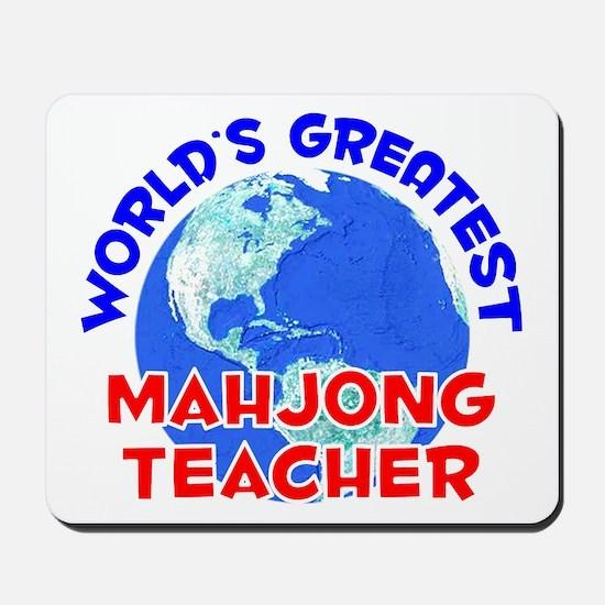World's Greatest Mahjo.. (E) Mousepad