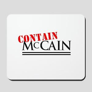 Contain McCain Mousepad