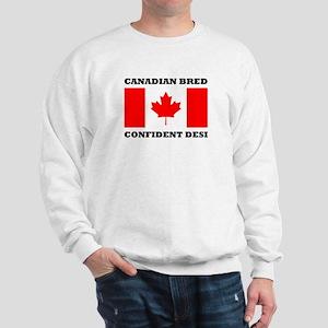 Canadian desi Sweatshirt