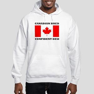 Canadian desi Hooded Sweatshirt