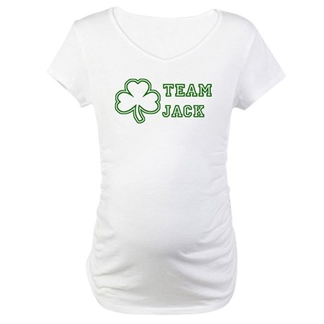 Team Jack Maternity T-Shirt