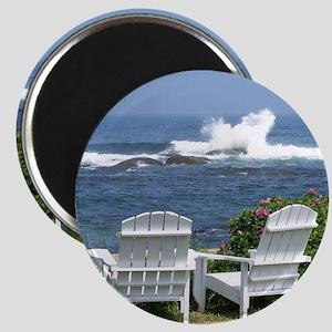 Downeast Oceanfront View Magnet