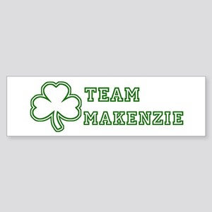 Team Makenzie Bumper Sticker
