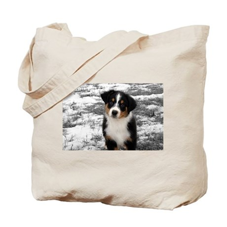 Colour Accented Baby Aussie Tote Bag