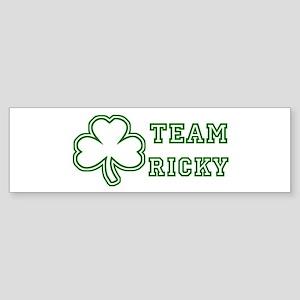 Team Ricky Bumper Sticker