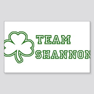 Team Shannon Rectangle Sticker