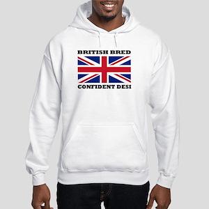 British desi Hooded Sweatshirt