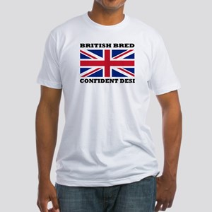 British desi Fitted T-Shirt