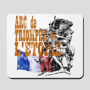 Arc de Triomphe Distressed Mousepad
