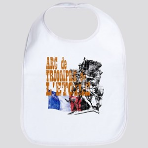 Arc de Triomphe Distressed Bib