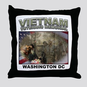 Vietnam Veterans' Memorial Throw Pillow