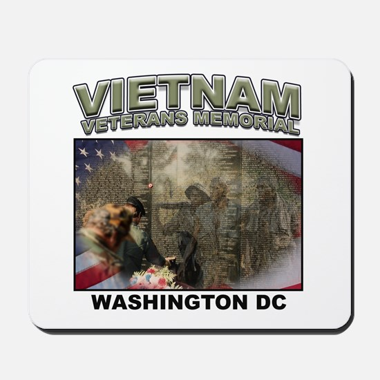 Vietnam Veterans' Memorial Mousepad