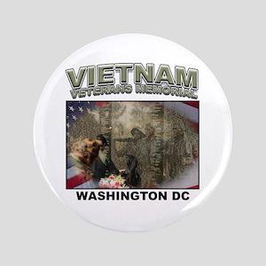 """Vietnam Veterans' Memorial 3.5"""" Button"""